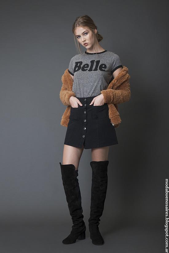 Moda invierno 2016 ropa de mujer Bled.