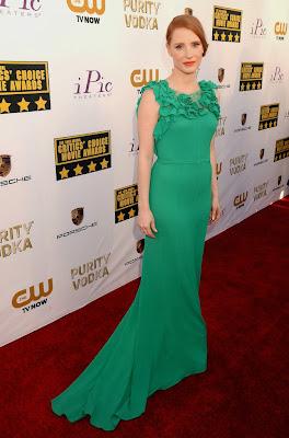 Jessica Chastain Critics Choice Movie Awards 2014