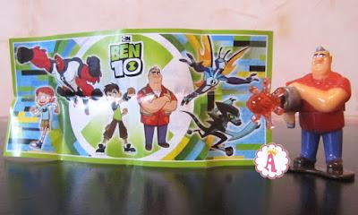 Игрушка из мультика Бен 10 дедушка Макс