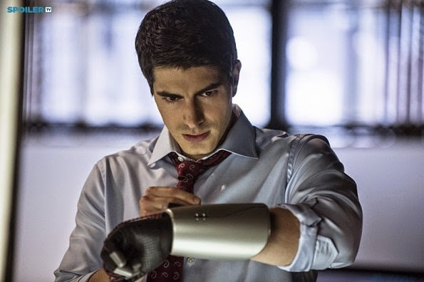 Ray Palmer en Arrow 3x10