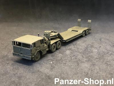 Faun L1212/45 Mit Tieflader