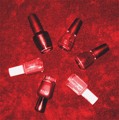 Full Swatch: Favorite Red Nail Polishes