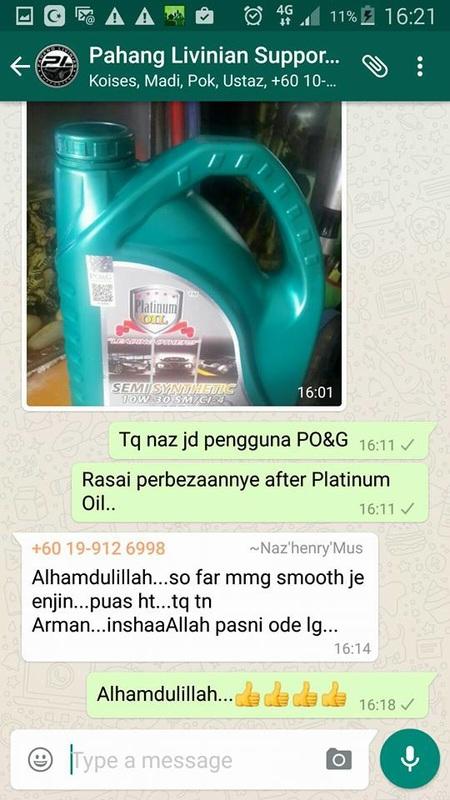 Platinum Oil