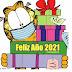 Garfield Feliz año Nuevo