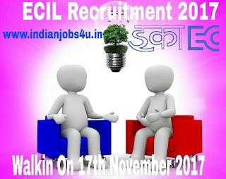 ECIL Recruitment 2017