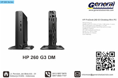 HP ProDesk 260 G3 Desktop Mini PC