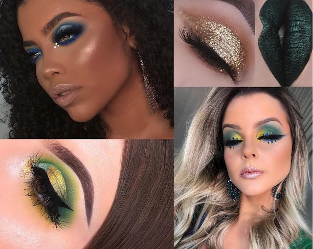 Confira 10 maquiagens para você torcer para o Brasil na Copa do Mundo