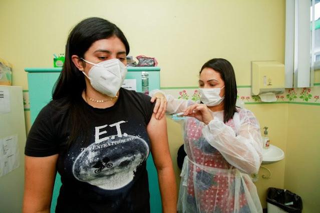 Começa nesta sexta-feira(23)  vacinação para o público de 27 e 29 anos em Óbidos