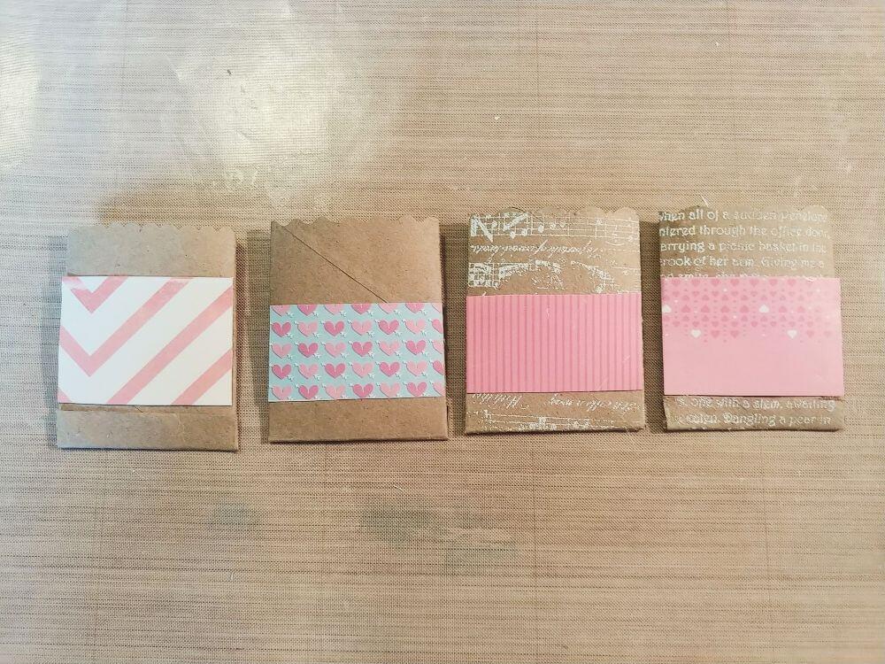 DIY Valentine Treat Pockets