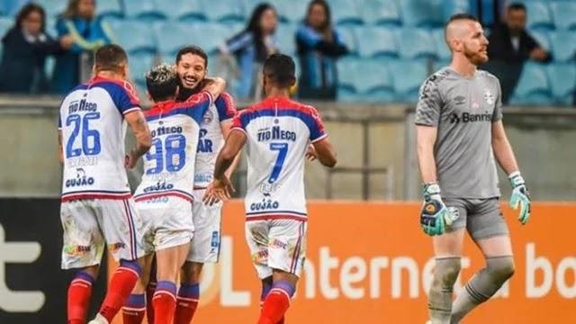 Esquadrão jamais havia vencido o Grêmio em Porto Alegre