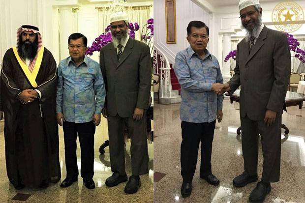 Dr Zakir Naik Bertemu Wapres Jusuf Kalla, Sampai-sampai Bu Mufidah Jusuf Kalla....