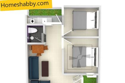 Get Desain Rumah Type 36 Ada Mushola Images
