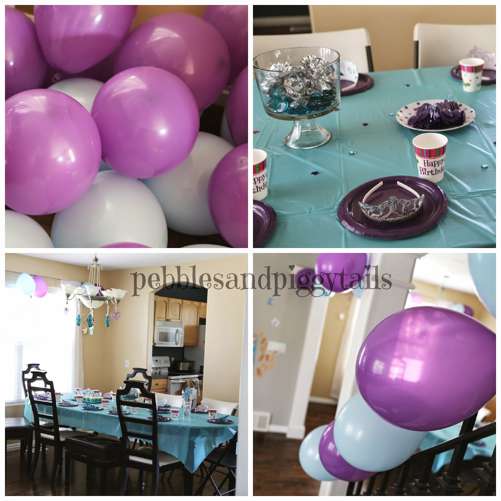 Simple FROZEN Birthday Party Ideas
