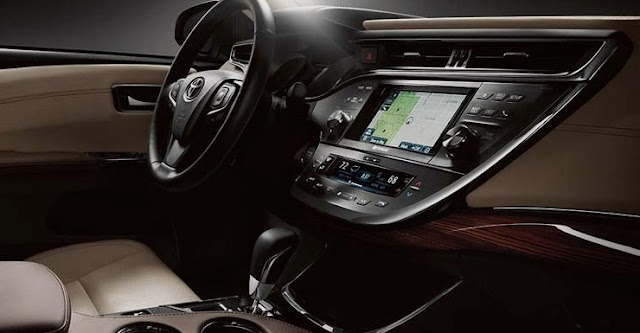 2018 Toyota Avalon Sedan Interior Redesign