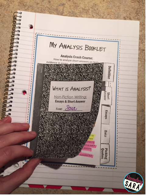 Analysis is quite challenging for most kids - hence why it's so high on Bloom's Taxonomy! After five years of struggling to get kids to do better written analysis, I have finally created a resource that totally lays out the process for them and sets them up for success. Click through to learn more!
