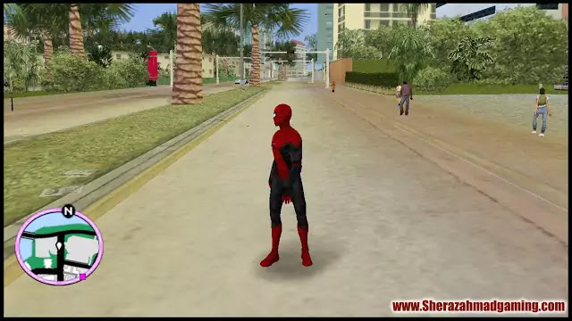 Spider-Man (Far From Home) Skin Mod For GTA Vice City