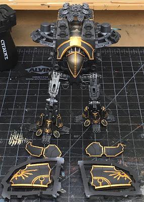 Warlord-Sinsister Psi-Ttan for Adeptus Titanicus WIP