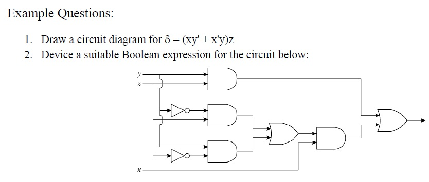 Form 4 IT Genius Exercises on Logic Gates