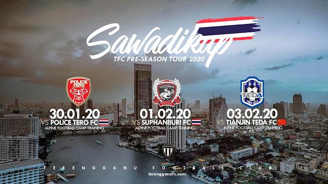 Live Streaming Terengganu vs Suphanburi FC 1.2.2020