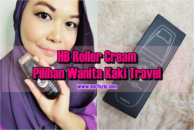 HB Roller Cream Pilihan Foundation Wanita Kaki Travel