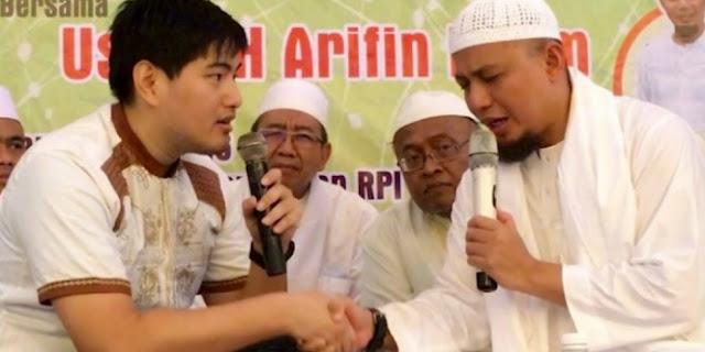 Akui Kebenaran Islam, Pemuda Asal Perancis Nyatakan Syahadat Dibimbing Ustad Arifin Ilham