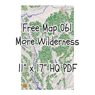"Free Map061: More Wilderness in a 11"" x 17"" HQ PDF"
