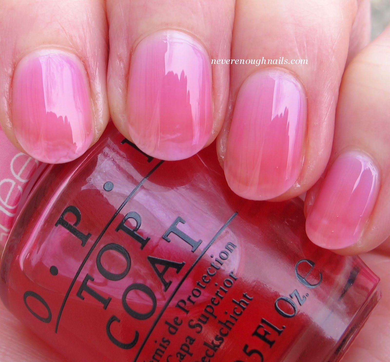 Never Enough Nails: OPI Sheer Tints Swatches and Play Time!