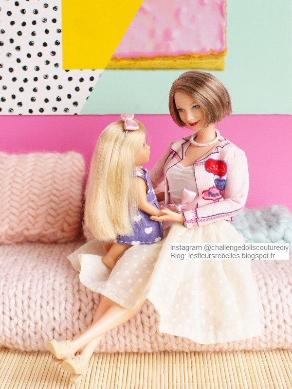 Evi Love et Barbie Grandma Happy Family