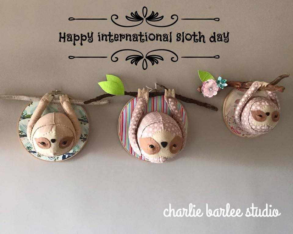 International Sloth Day Wishes pics free download