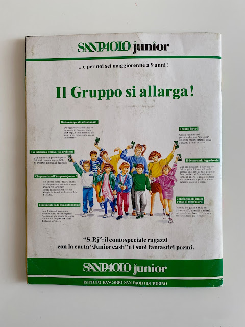 Quarta di copertina Euroflash Italia 90