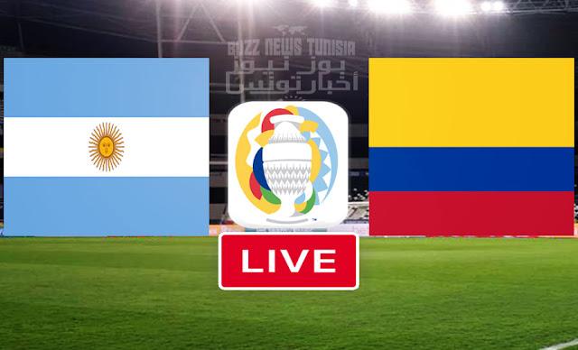 Match Argentina vs Colombia Copa America 2021 Live Streaming