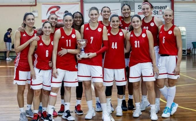 «Ερυθρόλευκο» το τουρνουά γυναικών στο Μοσχάτο-Ο Ολυμπιακός κέρδισε με 87-67 και τον ΠΑΣ Γιάννινα