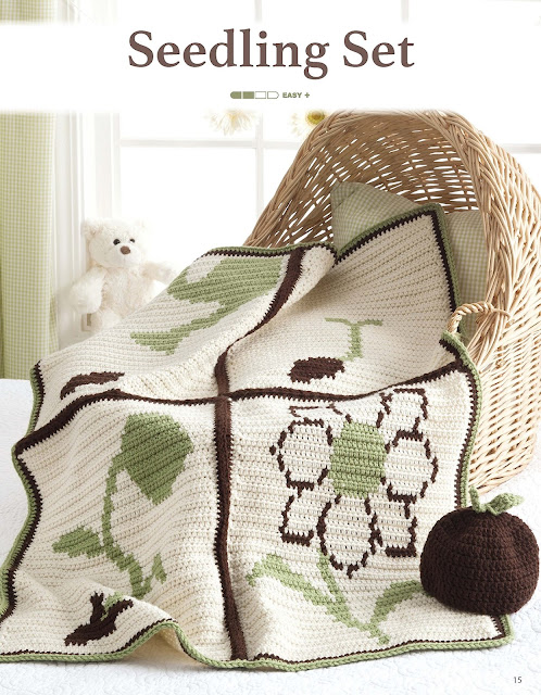 Seedling Set Crochet Pattern by Sara Leighton of Illuminate Crochet