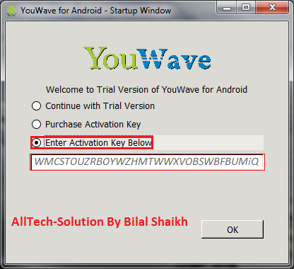 youwave android 2.3.4 activation key