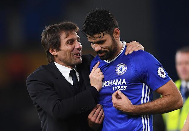 Karir Diego Costa di Chelsea Berakhir