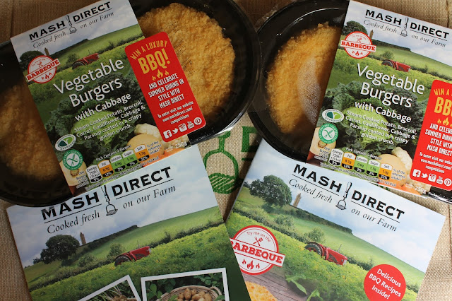 Mash Direct Vegetable Burgers