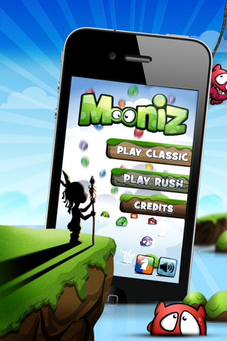 Best iPhone Games, Apps & Ringtones: Fun iPhone Game with Mooniz