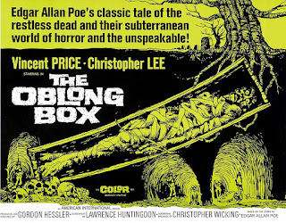 The Oblong Box, Vincent Price, Christopher Lee