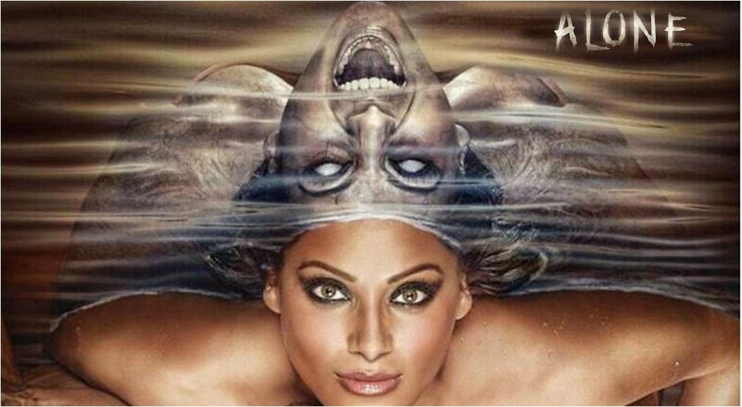 Bipasha Basu and her sister ghost together in Alone movie