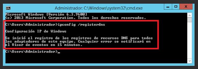 Microsoft Windows: IPConfig /registerdns