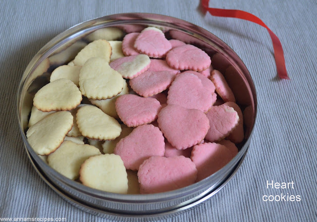Soft Heart Cookies
