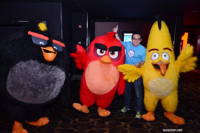 I'm an Angry Bird fan!