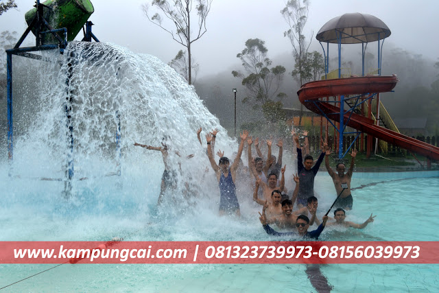 Villa Ciwidey Ada Kolam Renang Air Panas