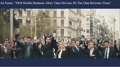 IBM Ad strategy to capture mobile market related segment
