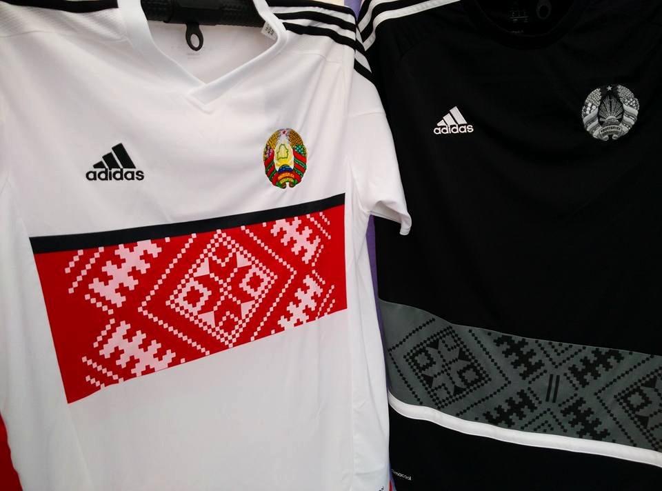 18c2bf2a0a Adidas lança os novos uniformes da seleção de Belarus - Show de Camisas