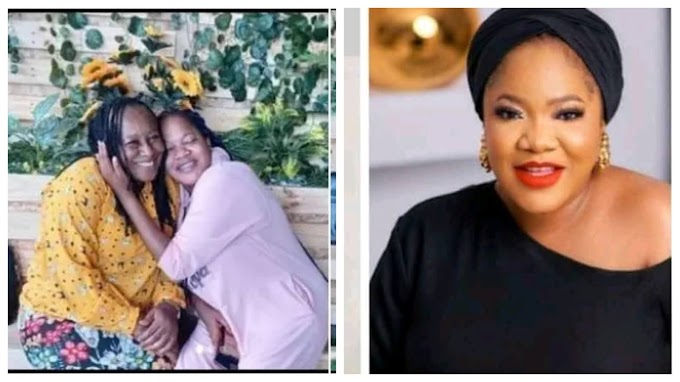 'You are a wonderful mother' Toyin Abraham showers love on veteran actress, Patience Ozokwor