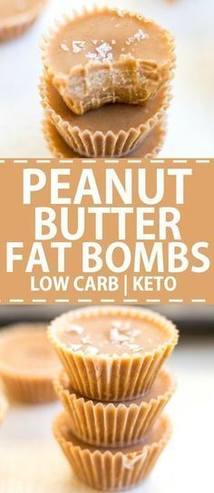LOW CARB PEANUT BUTTER FAT BOMBS (KETO)