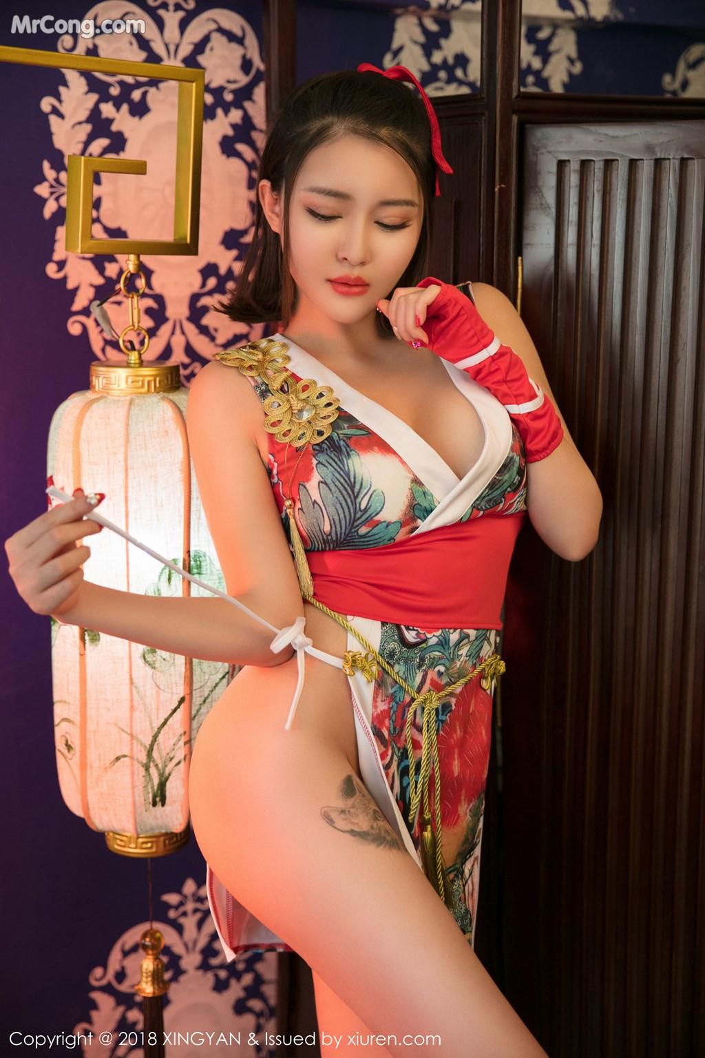 Image XingYan-Vol.028-MrCong.com-015 in post XingYan Vol.028: Người mẫu 廿十 (41 ảnh)