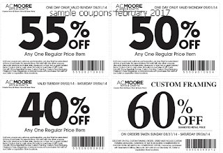 free AC Moore coupons february 2017