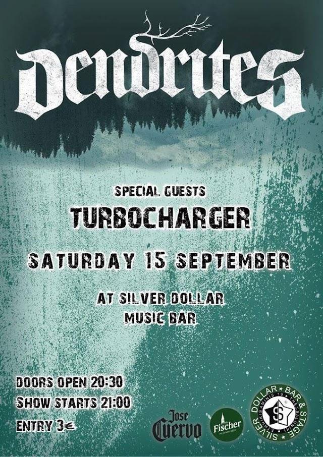 Dendrites & Turbocharger live @ Silver Dollar [Sat.15.Sept.'18]
